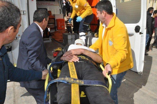 5'inci Katından Atlayan Öğrenci Başka Bir Öğrencinin Üzerine Düştü