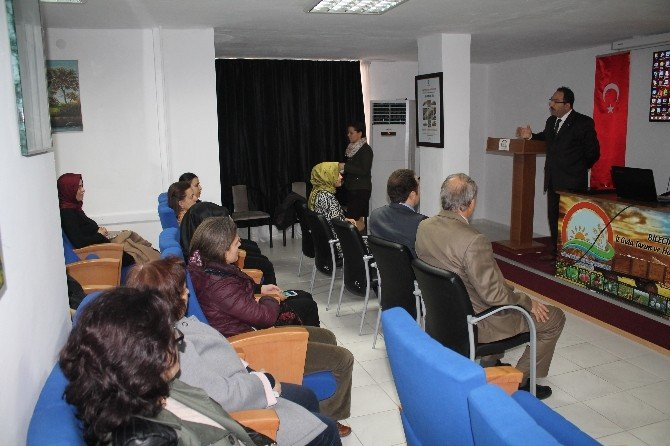 Bayan Personele Kadın Sağlığı Ve Hastalıklardan Korunma Yolları Eğitimi