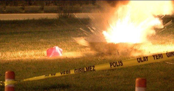 Eskişehir'de Şüpheli Poşet Polisi Alarma Geçirdi