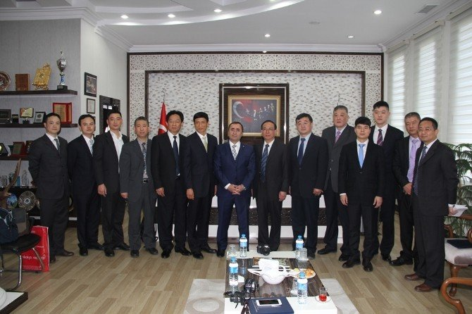 Çin Heyeti'nden Tonbul'a Ziyaret