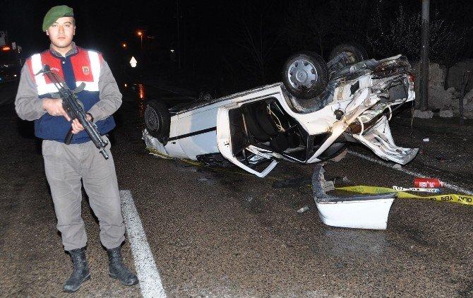 Otomobil Takla Attı: 1 Ölü