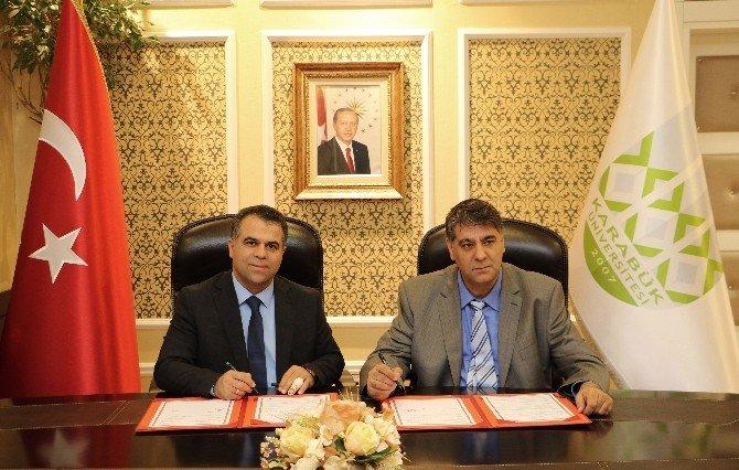 KBÜ İle Safranbolu Belediyesi Arasında İşbirliği Protokolü