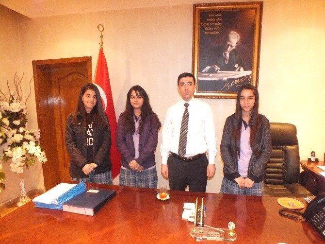 Şehit Arslan Kulaksız Fen Lisesi Öğrencileri Nur ECE'yi Unutmadı