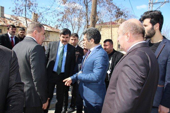 AK Partili Şimşek'ten Varto'ya Ziyaret