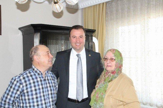 AK Parti Kırklareli Milletvekili Minsolmaz'dan Anlamlı Ziyaretler