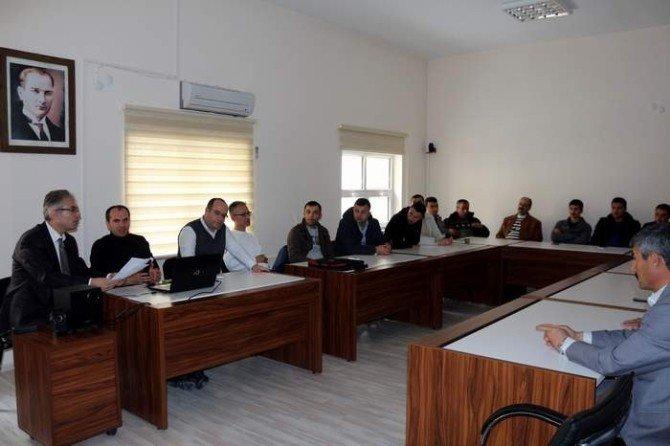 Ambulans Şoförleri Bilgilendirme Toplantısı Yapıldı