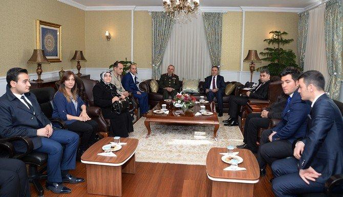 Erzurum'da Devlet Övünç Madalyası Tevcih Töreni