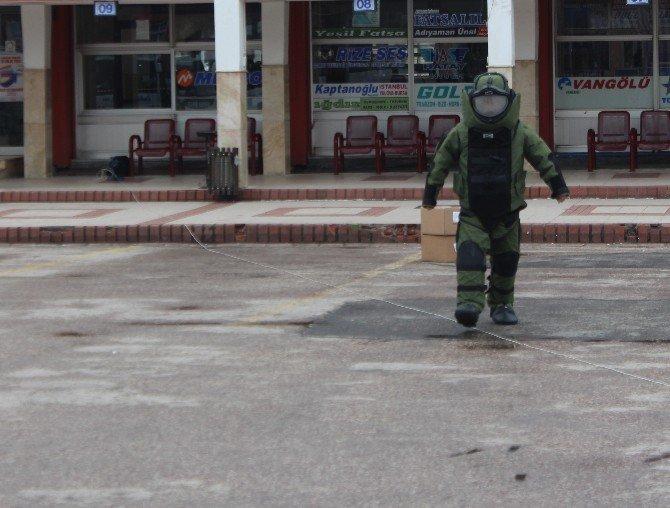 Ordu'da Şüpheli Çanta Paniği