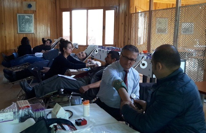 Üniversite Öğrencilerinden Kan Bağışına Destek