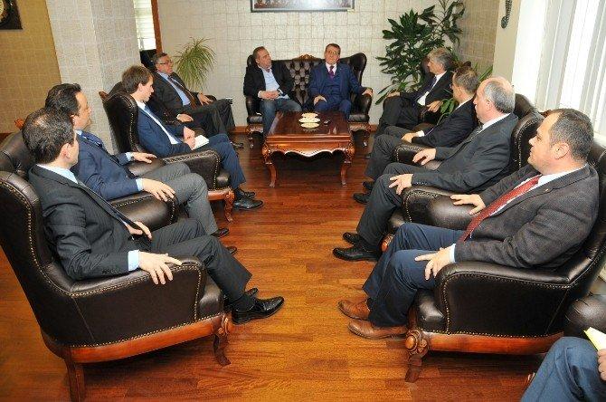 """Murzioğlu: """"Samsun Yabancı Yatırımcı İçin Odak Noktası"""""""