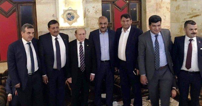 Harran Belediyesi Burhan Kuzu'yu Ağırladı
