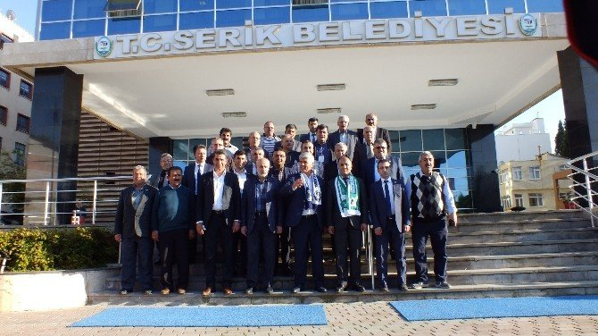 """Serik Belediyesi İle Beyşehir Belediyesi """"Kardeş Şehir"""" Oldu"""