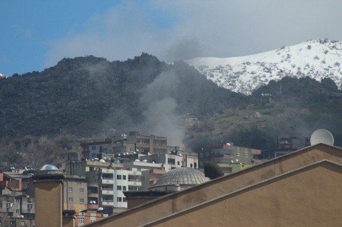 Şırnak'ta Barikat Ve Patlayıcılar Top Atışlarıyla İmha Ediliyor