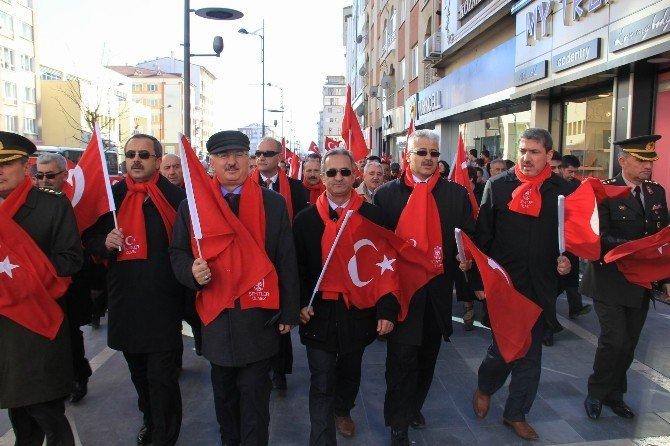 Sivas Çanakkale Şehitleri İçin Yürüdü