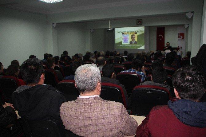 Bilecik'te ''Destanlaşan Çanakkale'' Konulu Sohbet