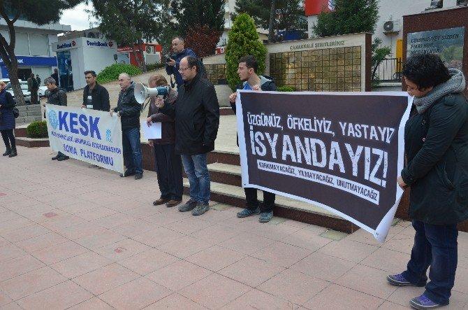 Soma Demokrasi Platformu Ankara Saldırısını Lanetledi