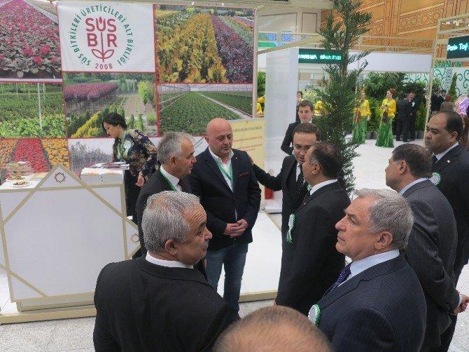 Süsbir Türkmen Flower Fuarı'nda Yoğun İlgi Gördü