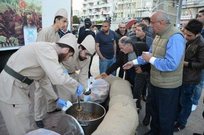 Antalya'da Şehitler Haftası'nda Bir Tas Hoşaf Ve Ekmek