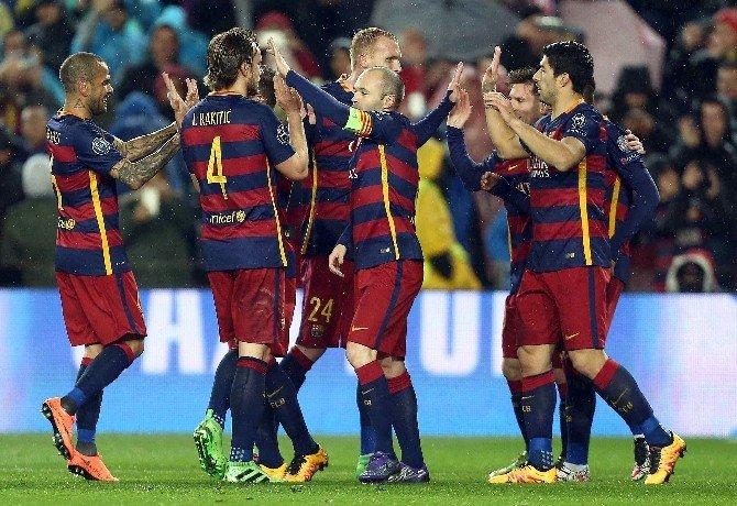 Arda'lı Barcelona, Çeyrek Finalde