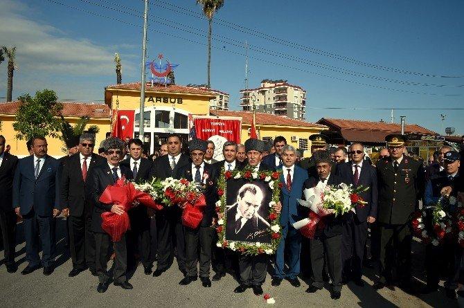 Atatürk'ün Tarsus'a Gelişinin 93. Yıldönümü Kutlandı