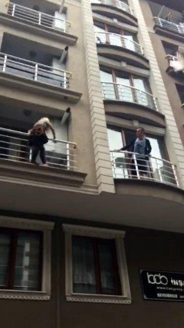 (Özal Haber) Koca Şiddetinden Kurtulmak İçin Balkondan Balkona Atladı