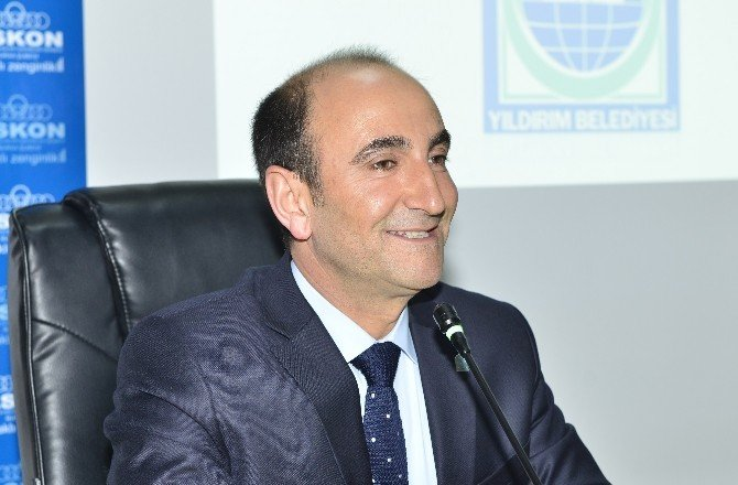 Başkan Edebali'den İş Dünyasına 'Yeni Yıldırım' Brifingi