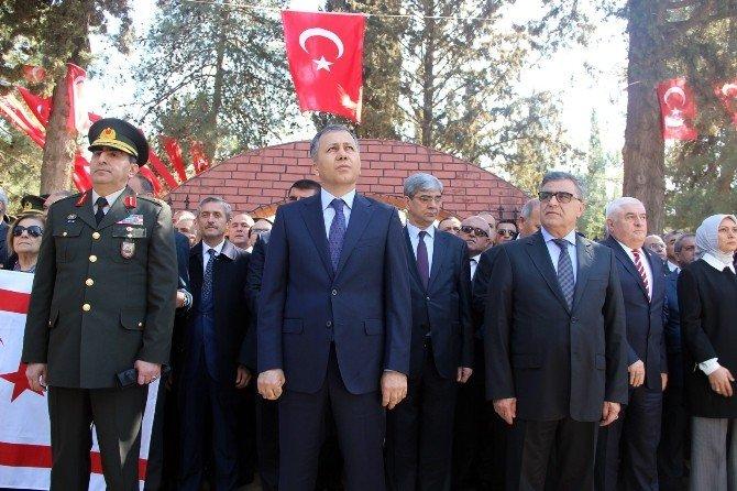 Gazi Kentteki Şehitlerin Üzeri Türk Bayrağıyla Örtüldü