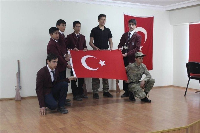 18 Mart Şehitler Günü Ve Çanakkale Deniz Zaferinin 101. Yıl Dönümü Selim'de Kutlandı