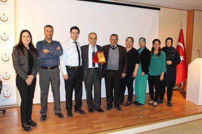 Eski Hastane Müdürü Ekrem Türk Emekli Oldu