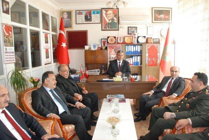 Vali Mahmut Demirtaş Ve İl Protokolünden Tümşad'a Ziyaret