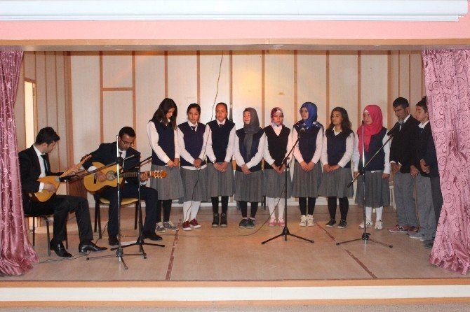 Samsat'ta Şehitleri Anma Programı Düzenlendi
