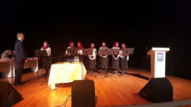 Patnos'ta Genç Nida Kur'an-ı Kerim'i Okul Okuma Yarışması