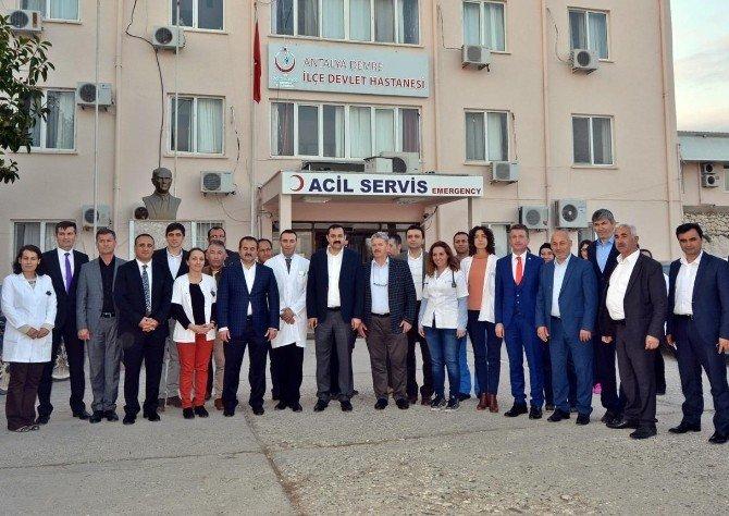 Demre'ye 50 Yataklı Yeni Hastane Müjdesi