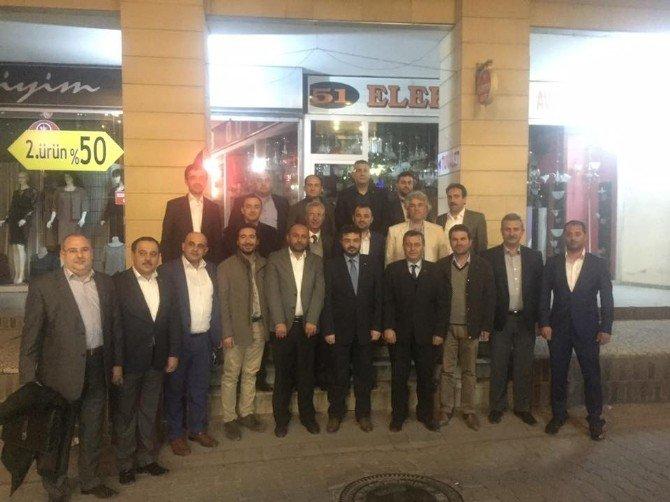 AK Parti Aydın İlçe Başkanları Toplantısı Söke'de Yapıldı