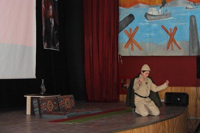Çanakkale Zaferi'nin 101'inci Yıl Dönümü Akdağmadeni İlçesinde Kutlandı