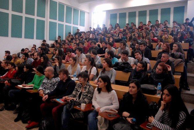 Turizm Fakültesi Öğrencileri Otel Müdürleri Ve Aşcıbaşları İle Buluştu