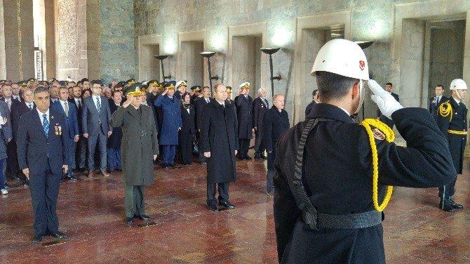 Anıtkabir'de 18 Mart Çanakkale Şehitleri Anma Töreni