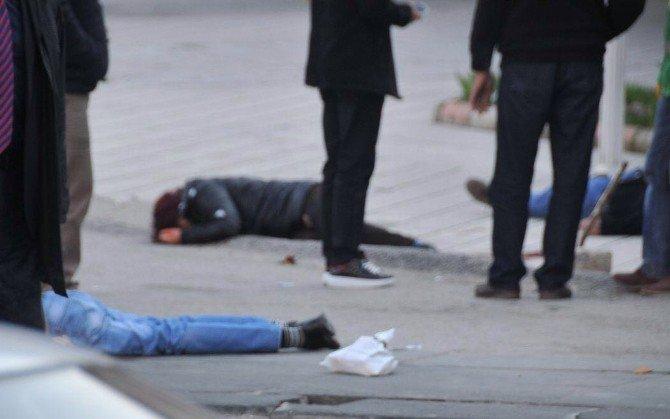 Silahla 2 Kişiyi Vurarak Öldüren Şahıs, Daha Sonra İntihara Teşebbüs Etti