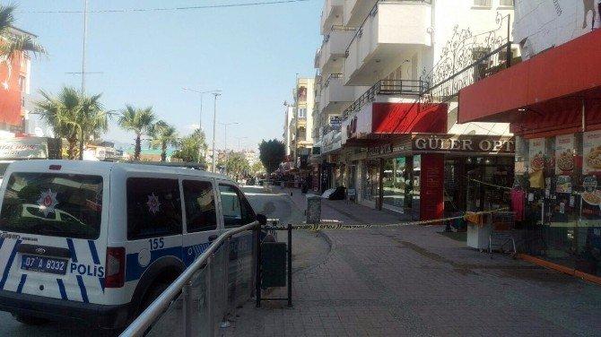 Manavgat'ta Fünye İle Patlatılan Termostan Su Çıktı