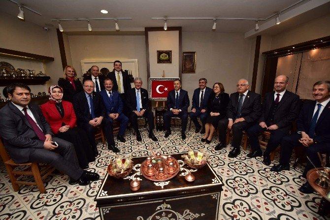 AB Bakanı Volkan Bozkır, Antep Sepetinde