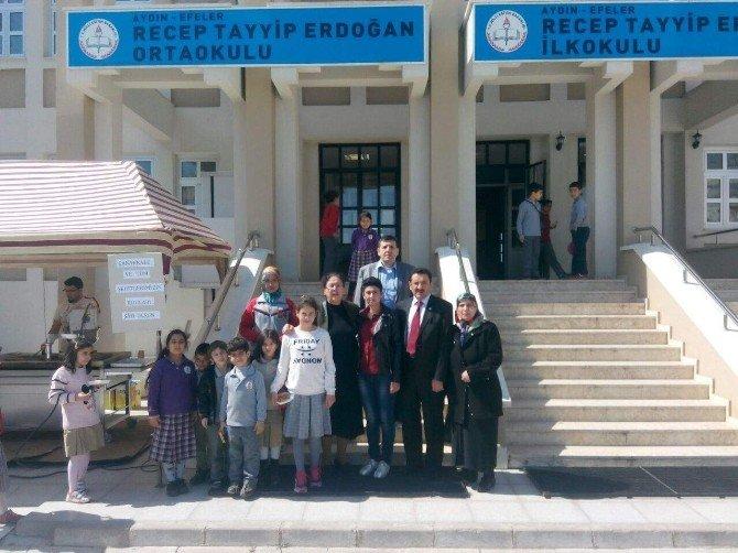 TOKİ Recep Tayyip Erdoğan Okulu'nda Şehitler Ruhuna Lokma Döktürüldü