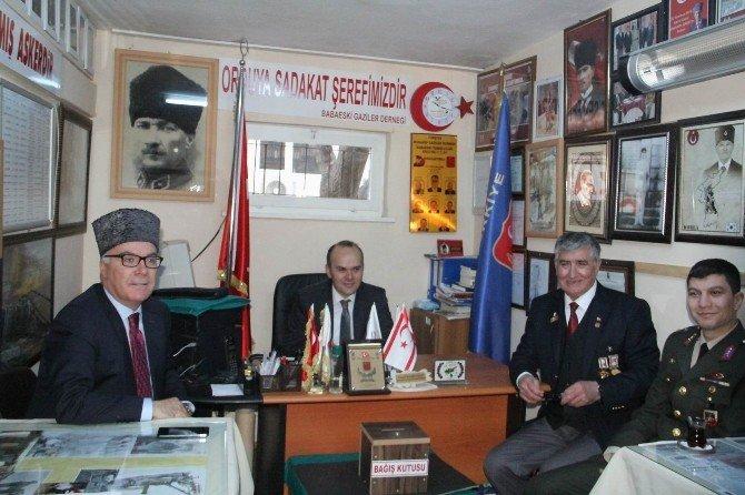 Babaeski Protokolünden Türkiye Muharip Gaziler Derneği'ne Ziyaret