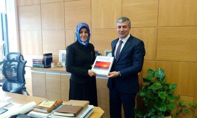 Başkan Aksoy'dan Zeytinburnu Belediyesi'ne Ziyaret