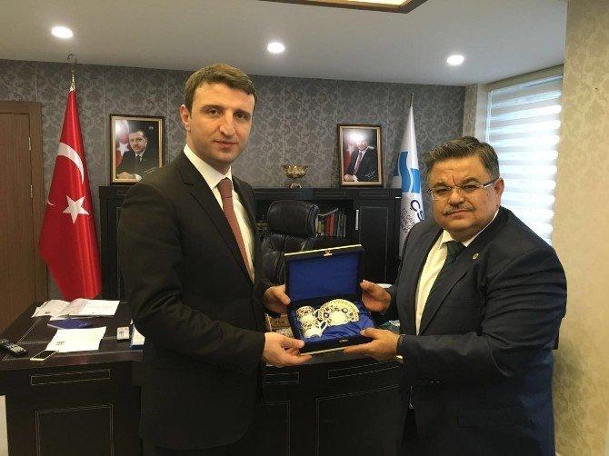 Belediye Başkanı Selim Yağcı'nın Ankara Temasları