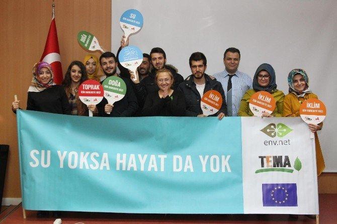 BEÜ'de 'Susuz Dünya' Belgeseli Gösterildi