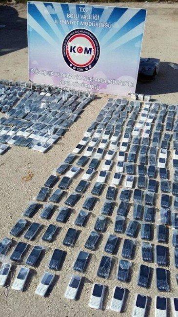 Bolu'da 750 Bin TL Değerinde Kaçak Ürün Ele Geçirildi