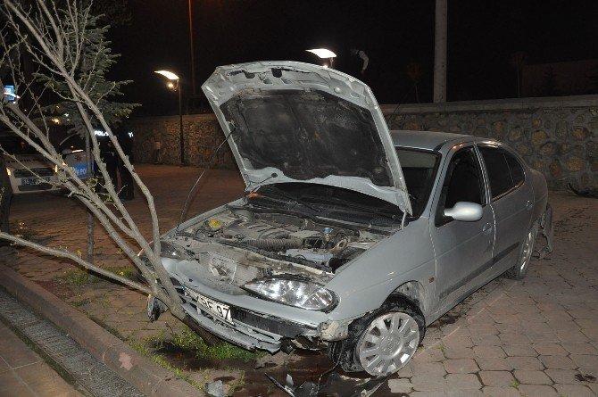 4 Ayrı Kazada 4 Kişi Yaralandı