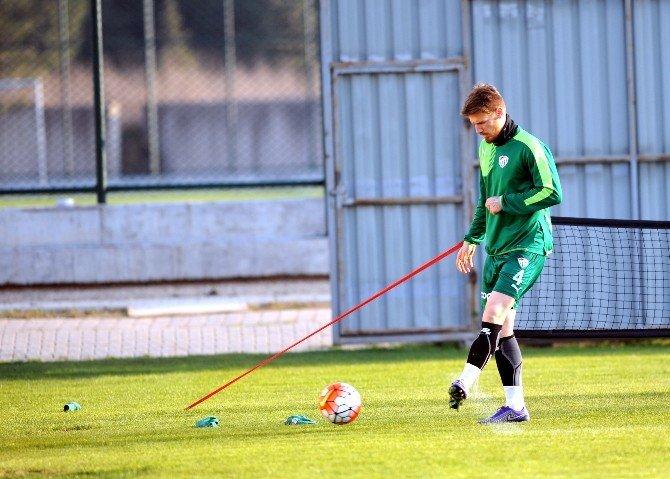 Bursaspor'da Kasımpaşa Hazırlıkları Sürüyor