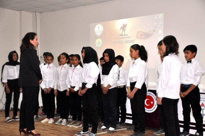 Sınır Kent Akçakale'de 18 Mart Çanakkale Şehitleri Yıl Dönümü Kutlaması