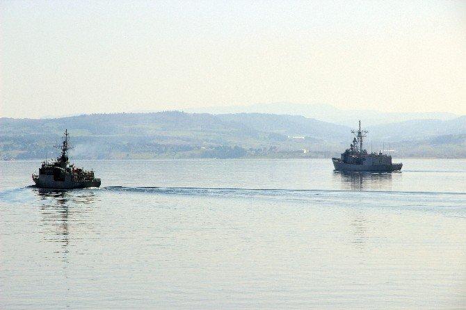 Deniz Kuvvetleri Gemileri 18 Mart İçin 'Vira Bismillah' Dedi